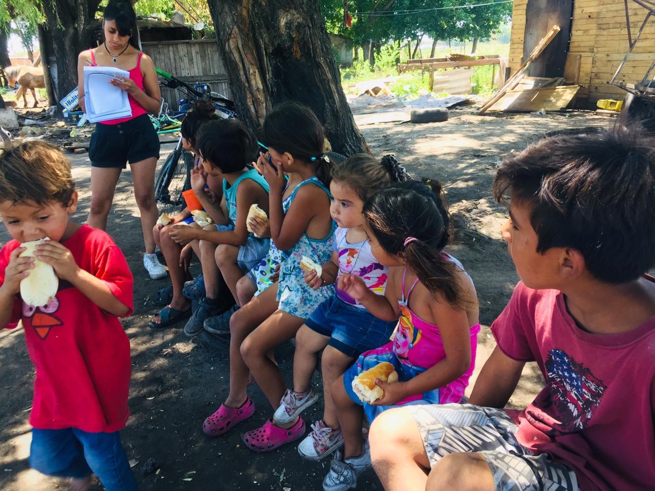 NaviDar. Felices de colaborar una año más con un comedor para niños de José C. Paz.