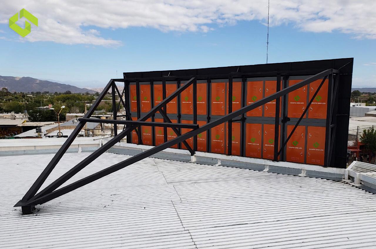 Gran instalación en San Juan nuevamente de la mano de Novo Medios.