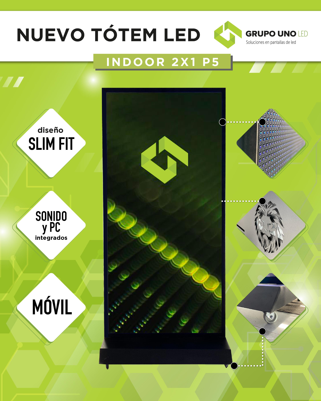 Diseño exclusivo de Grupo Uno LED.