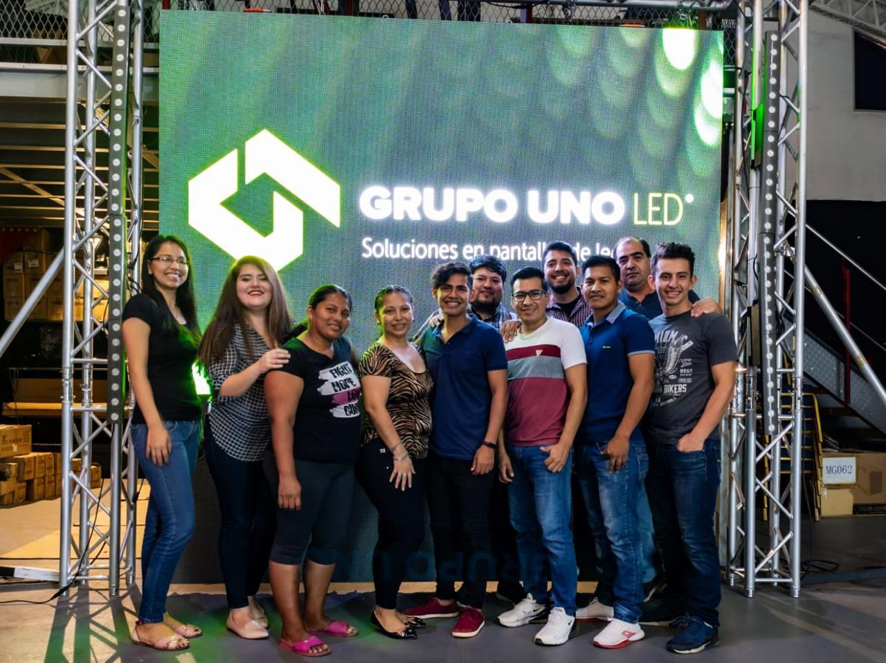 Grupo Uno LED llegó a Bolivia.