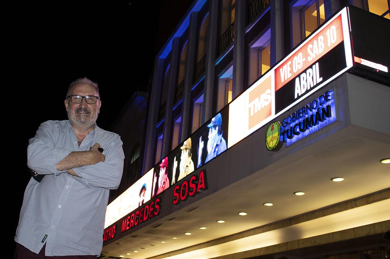 Testimonio de Raúl Armisen sobre la instalación en el Teatro Mercedes Sosa en Tucumán.